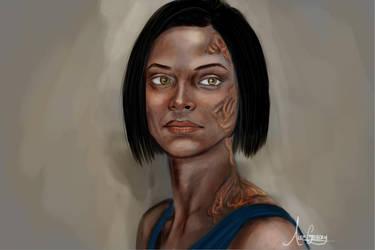 Leila Shepard by alexvasnormandy