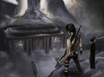 Tomb Raider: Chasm Monastery by alexvasnormandy