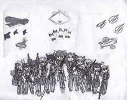 strike witches invasion by JoshJenkins6