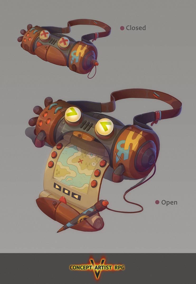 Concept Artist RPG 5 Task 2 by Klodia007