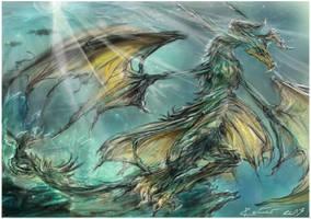 Smaragdragon by Re1mer