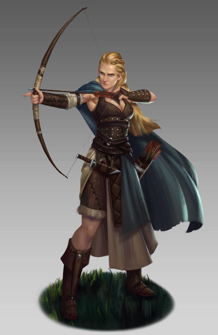 Archer by NathanParkArt