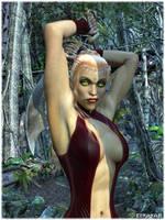 Bloodelven Rogue by Ethakar