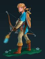 Link, Breath of the Wild by DesireeMoffatt