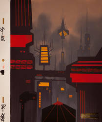 Samurai Jack (S04E08) Aku City 2 by Davidevgen