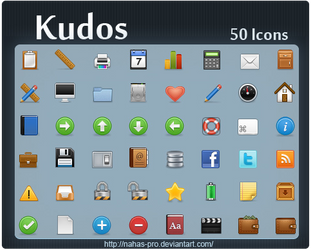 Kudos Icons by nahas-pro