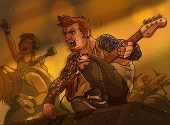 Concert Rage [Metalheart Meltdown] by ProfDrLachfinger