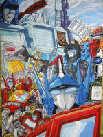 Autobot Family Portrait by mdrmoreau