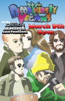 Anime Convention Flyer by AMProSoft