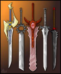 Swords 4 by KupoGames
