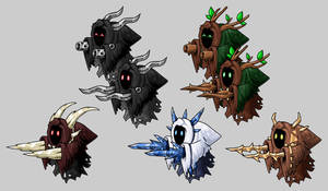 EBF5: The Wraiths by KupoGames