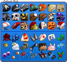 EBF5: Hat Icons by KupoGames