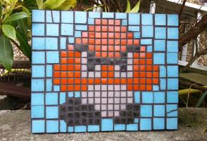 Goomba Mosaic by KupoGames