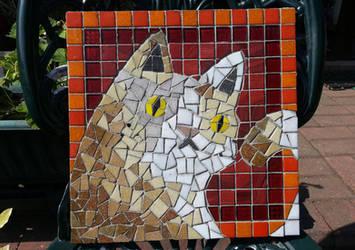 Cat Mosaic by KupoGames