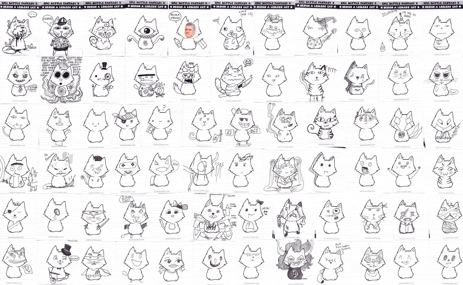 No-Legged Cats by KupoGames