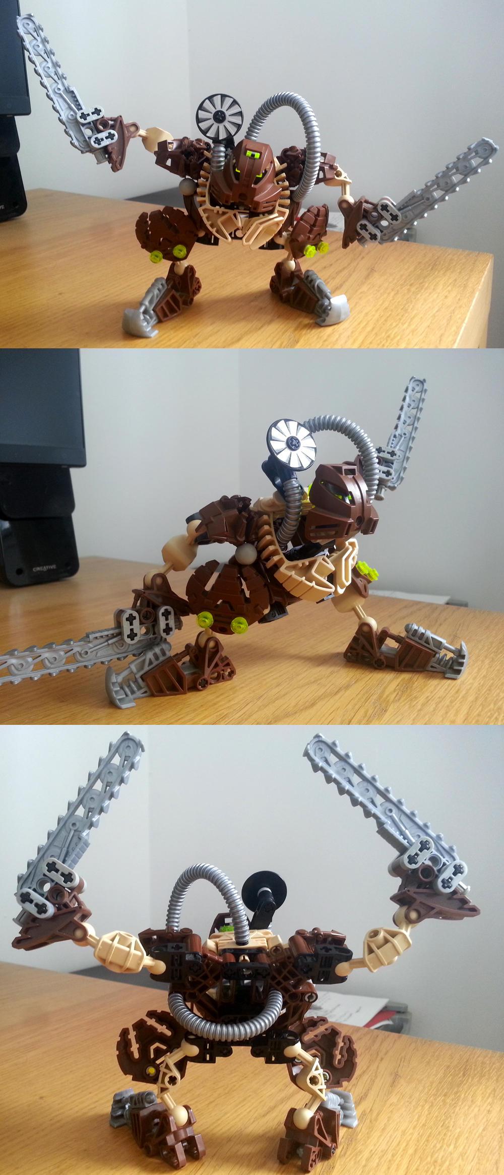 Bionicle MOCs: Earth by KupoGames