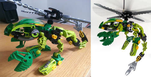 Bionicle MOCs: Jungle by KupoGames