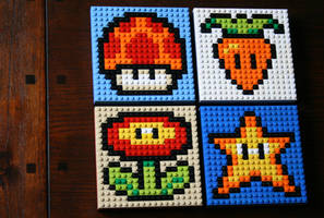 Mario Power Ups by KupoGames
