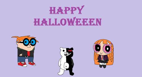 B+D Halloween 2018 by BlossomWolf