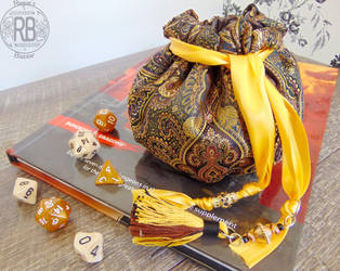 The Jeweler's Pouch - Small Dice Bag by Patchworkinksmith