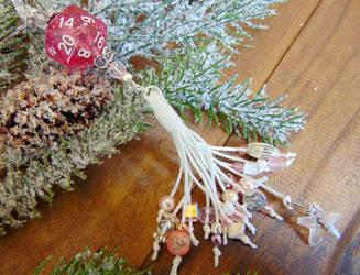 The Sugar Plum Tassel Ornament by Patchworkinksmith