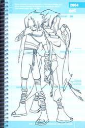 Uchiha Brothers: Chara Design by MakotoShinki
