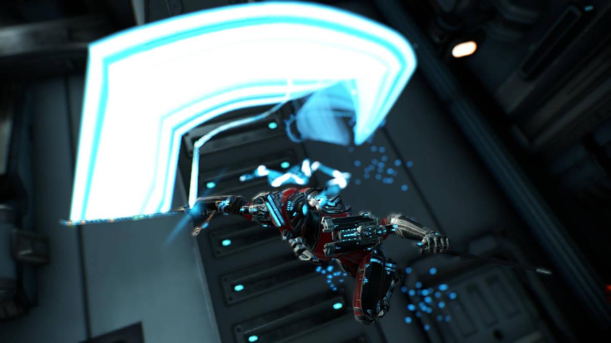 [Warframe Captura] Nikana Slash by TheRanger42