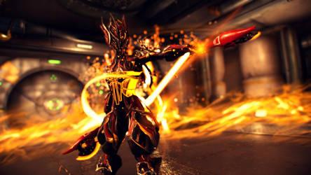 [Warframe Captura] Flame Girl by TheRanger42