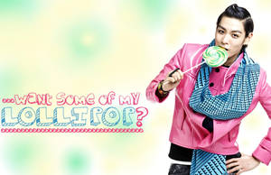 TOP Lollipop Wallpaper by YseulTristan