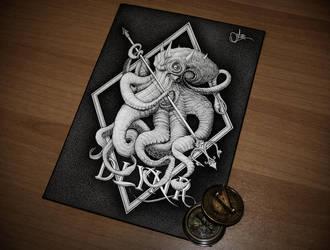 Kraken by artsc0re