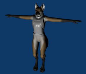 Fox WIP by CrossFoxTsusasi