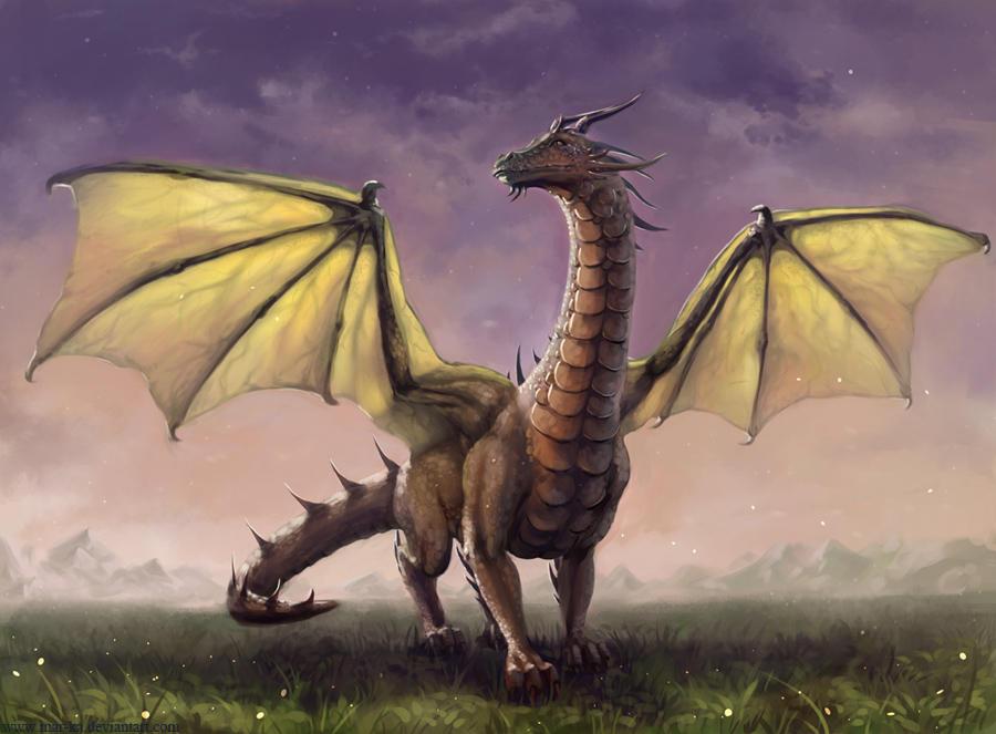 Dragon by Mar-ka