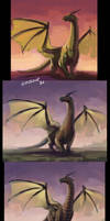 Dragon_wip by Mar-ka