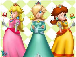 The Three Princesses by BabyVegeta