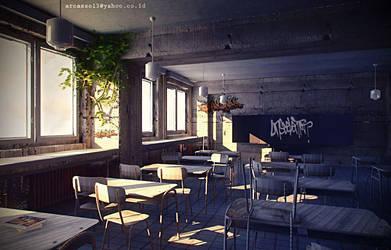 Old classroom by jaxpc