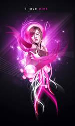i love pink by jaxpc