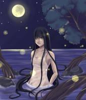 Midnight Bathe by Kai-Yan