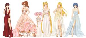 Paris Fashion Week  X  Sailor Moon by Kai-Yan