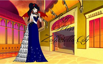 Contest - Rozy Miss Zolfanello City + fond by Rozy10