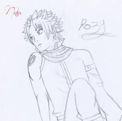 Natsu art paper by Rozy10