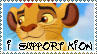 Stamp -- I support Kion by xXXMizanXXx