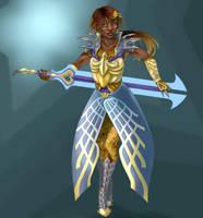KH2 Ultima female gijinka by AnkeLive