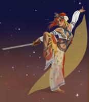 sword dancer by AnkeLive