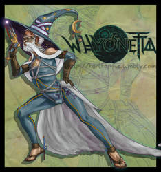 Whyonetta, or *What if Bayonetta was a wizard?* by AnkeLive
