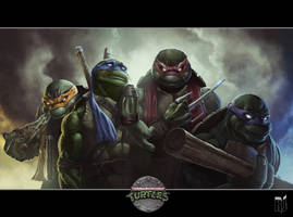 Teenage Mutant Ninja Turtles by Rob-Joseph