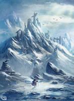 Skull Mountain by Rob-Joseph