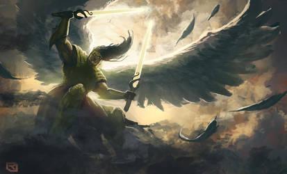 Epic Angel by Rob-Joseph