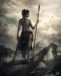 Warrior Woman by Rob-Joseph