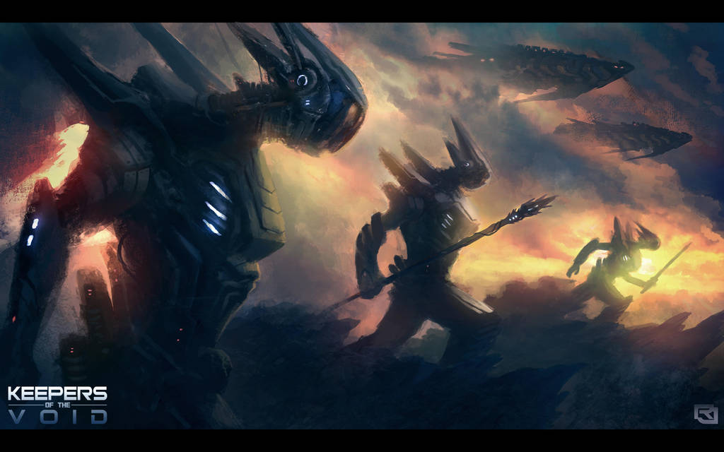 Keepers of The Void: Nemesis Invasion by Rob-Joseph