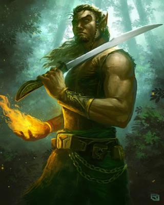 Wood Elf by Rob-Joseph